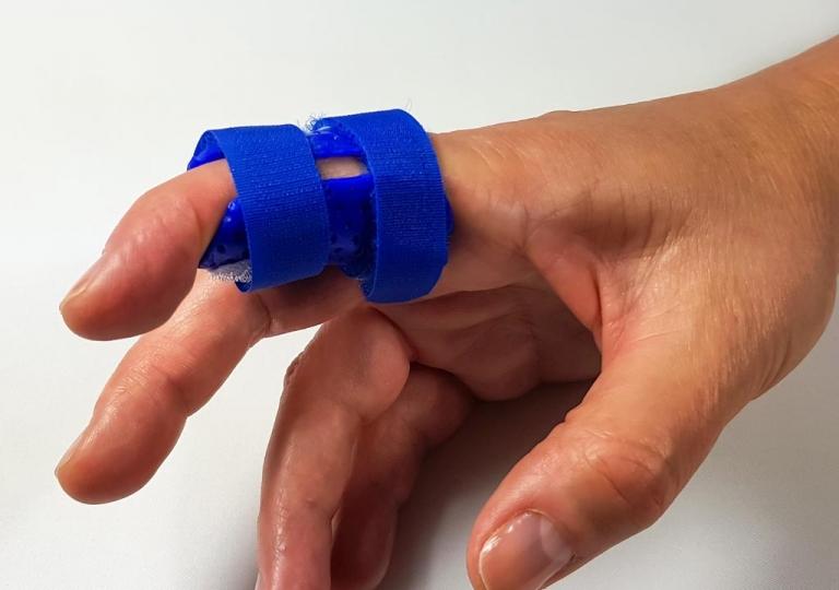 Finger-lagerungsschiene